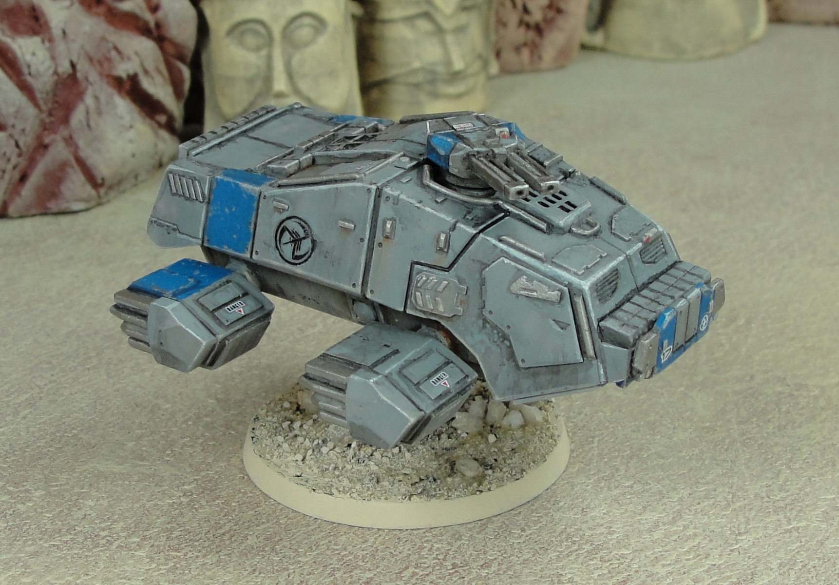 The basic Sampson has a turret with linked Light Autocannons installed.