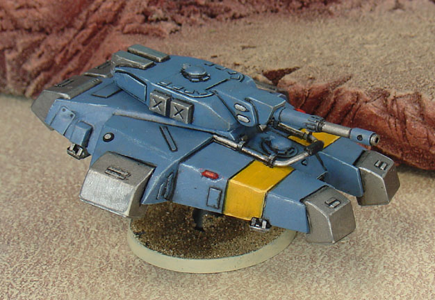 The CEF's high-tech mainline hover tank.