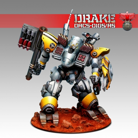 This is a hybrid of the standard and Command variants of the Drake.