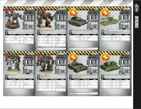 Datacards are included for units from a wide range of factions.