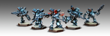 Exclusive to the elite Southern Republic Army, the Honor Guard Cadre can field special units such as the Fer De Lance.